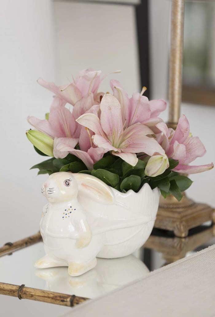 Vaso do coelhinho