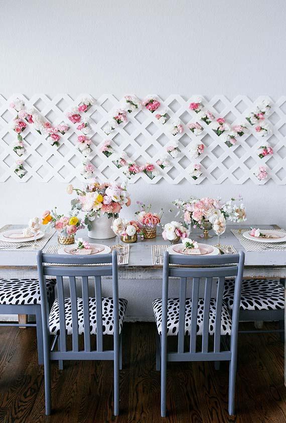 flores e perfumes delicados