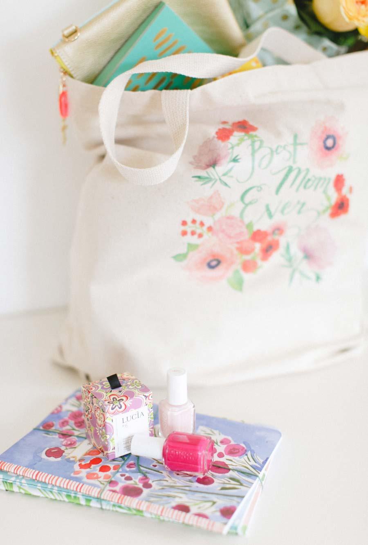 Kit de beleza como presente para sua mãe