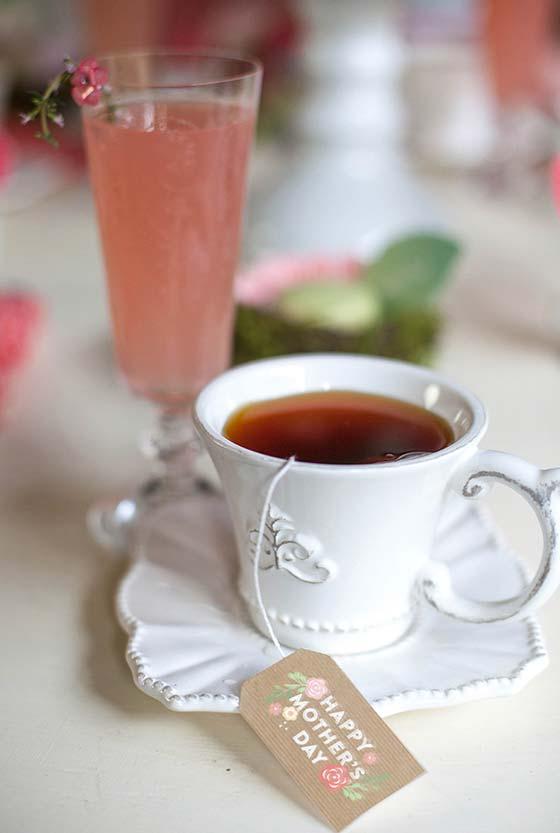 Outra ideia para Tag do chá da sua mãe