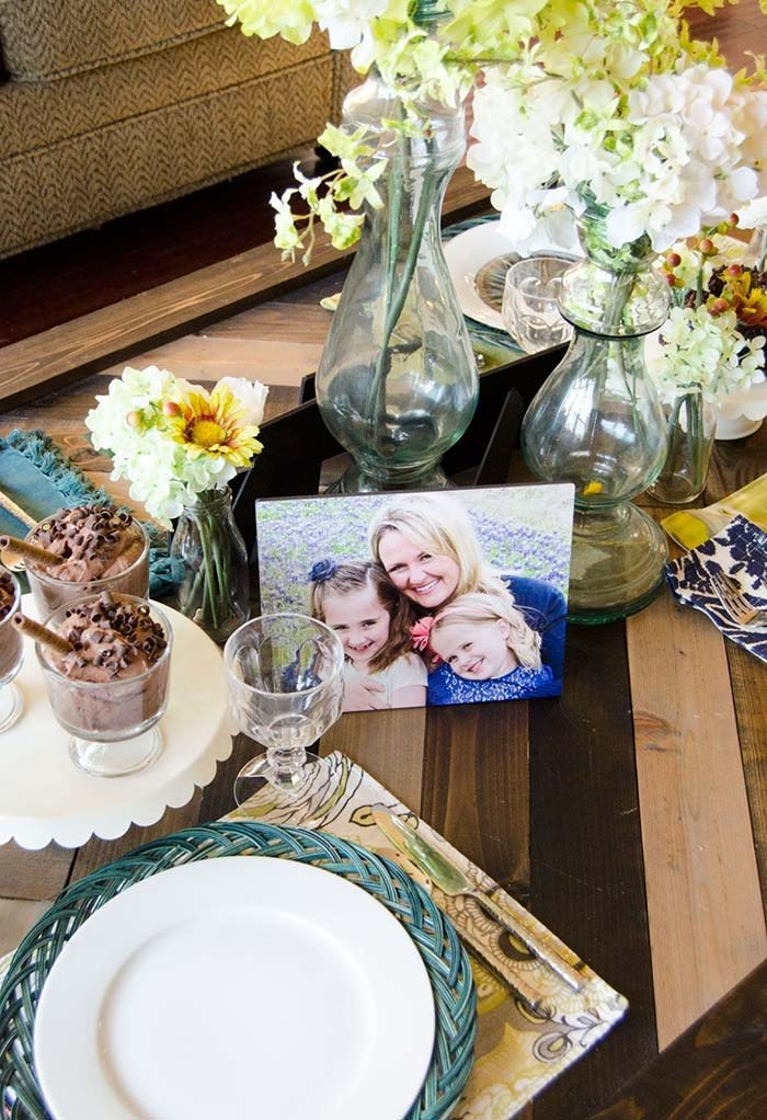 Fotos de família são ótimos elementos decorativos