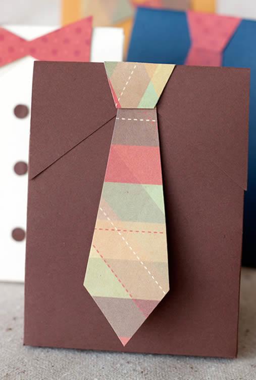 Caixinha de papel para colocar seus presentes