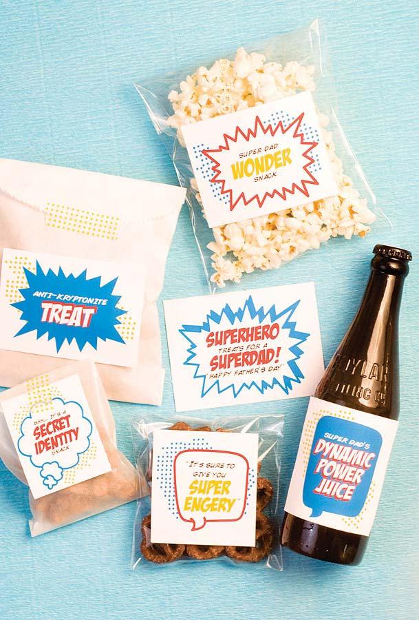 Embalagens super personalizadas para o seu super-herói favorito