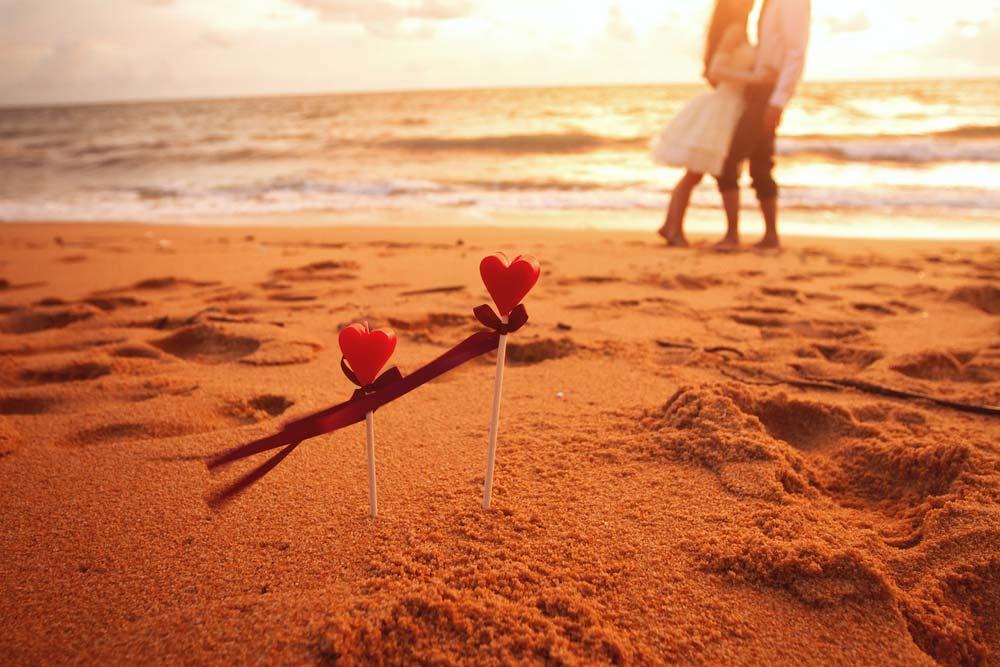 Romantismo no casamento