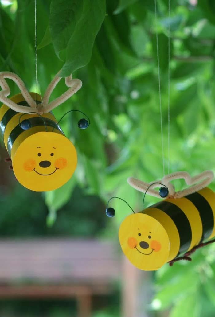 Artesanato com rolo de papel-higiênico: animais cheios de personalidade