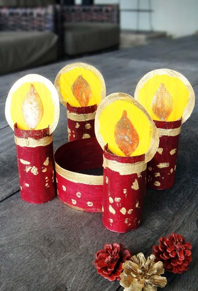 Enfeite para o natal perfeito para fazer com as crianças