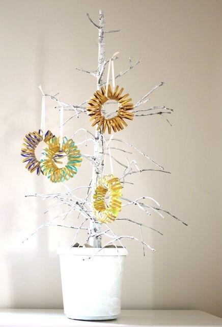 Artesanato com rolo de papel higiênico: enfeite diferente e criativo