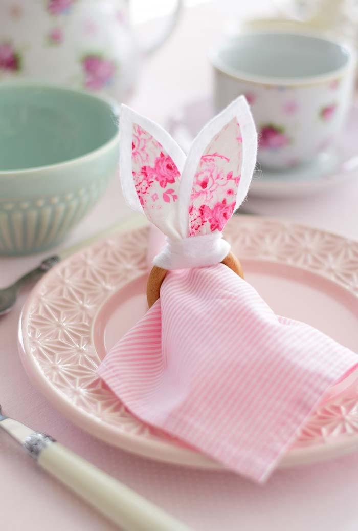 Artesanato em feltro: valorize a mesa com um porta guardanapo de feltro