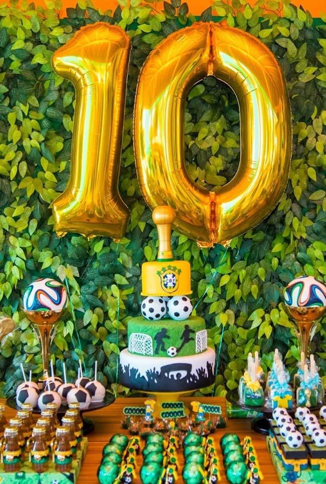 Festa infantil copa do mundo 2018