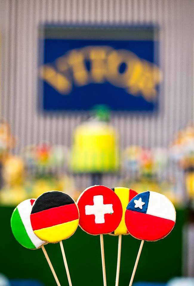 Decoração festa copa do mundo