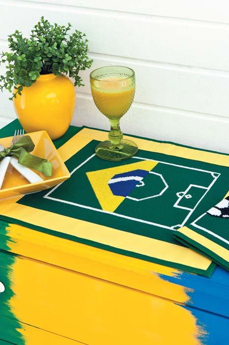 Jogo americano inspirado no futebol brasileiro