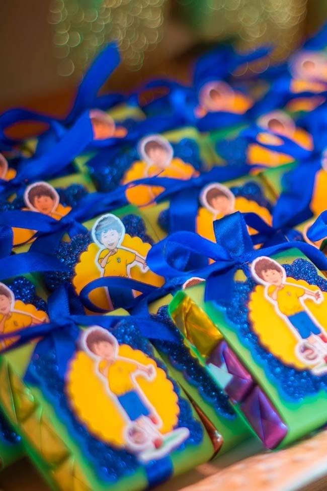 Lembrancinhas copa do mundo para festa infantil