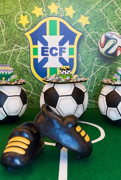 Decoração completa para festa copa do mundo 2018