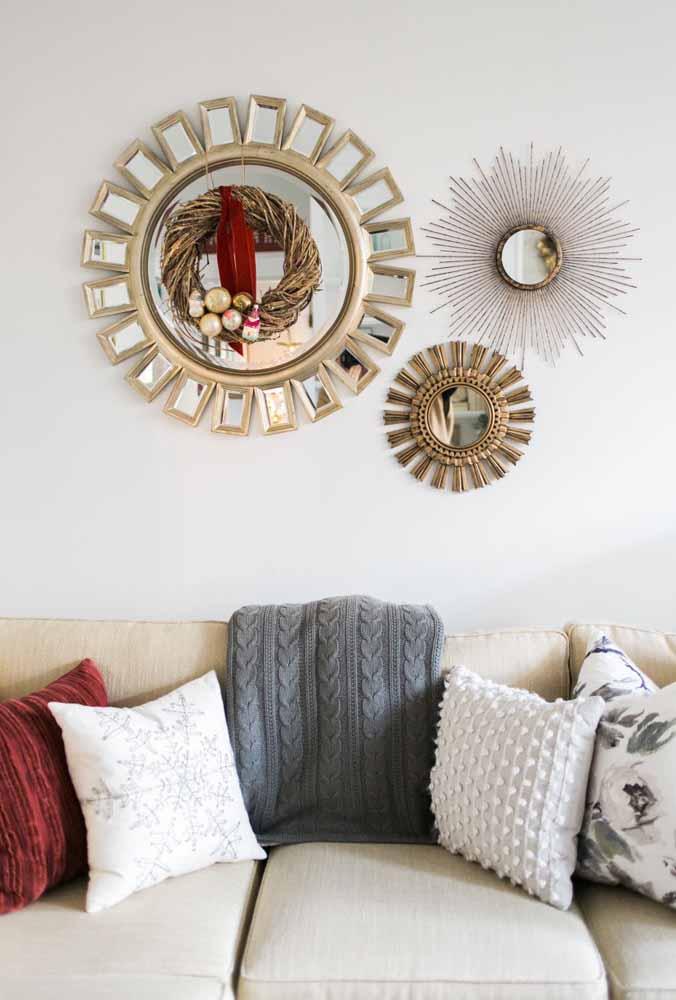 Transforme espelhos em objetos de decoração