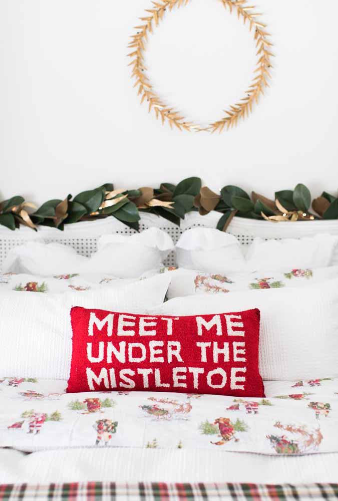 Não se esqueça de preparar o quarto para o Natal