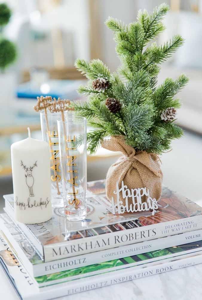 A delicadeza dos objetos natalinos