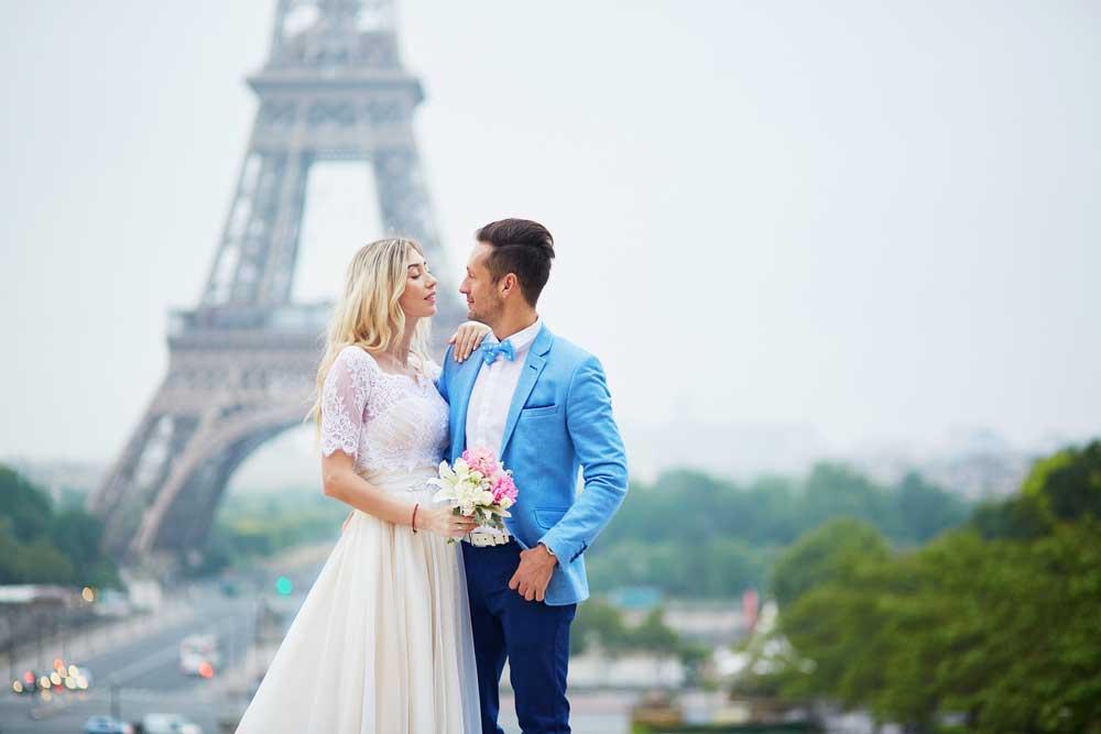 Pedido de casamento em paris