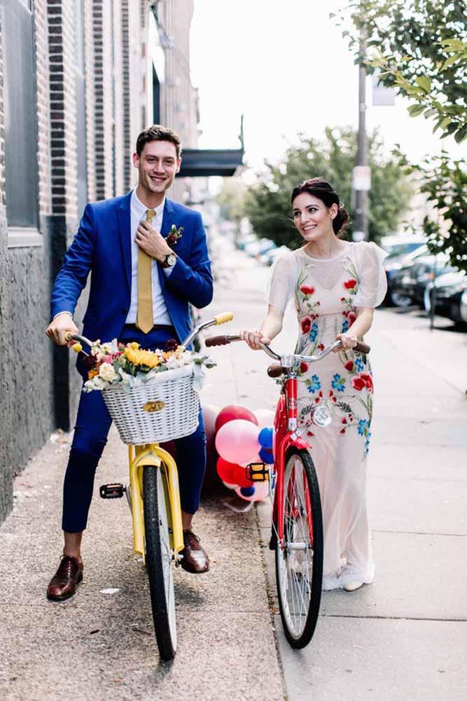 Ou a bicicleta, quem sabe?