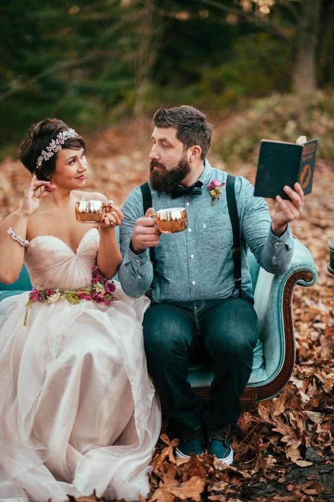 Um bom livro e um bom chá