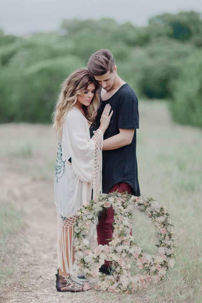 Casal paz e amor