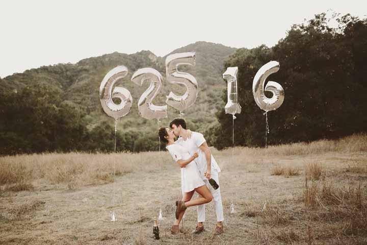 Quando se tem amor e afinidade, o pré-wedding fica lindo em qualquer lugar, mesmo sem grandes recursos