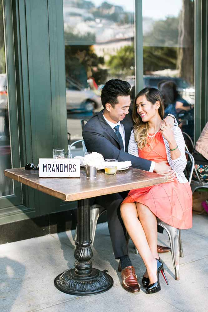 Aquele café onde vocês se conheceram pode ser o local ideal para o pré-wedding