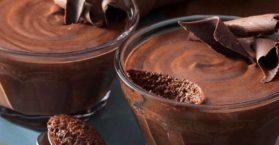 Mousse de chocolate clássico