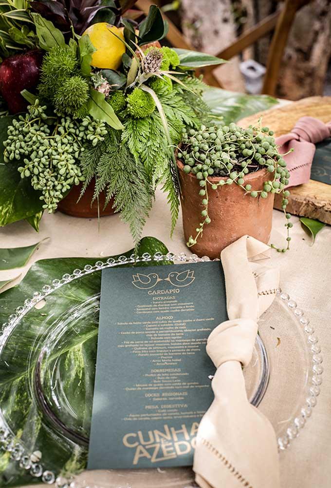 Os pequenos detalhes podem fazer a grande diferença em uma decoração rústica para casamento.