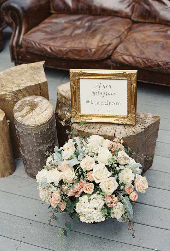 A tendência do momento é publicar as fotos no Instagram. Por isso, prepare uma hashtag da festa para os convidados compartilharem os melhores momentos.