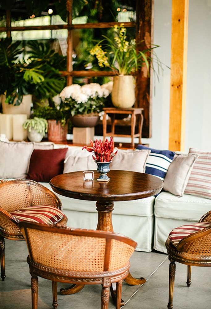 Vale a pena investir em ambientes para os convidados ficarem mais à vontade.