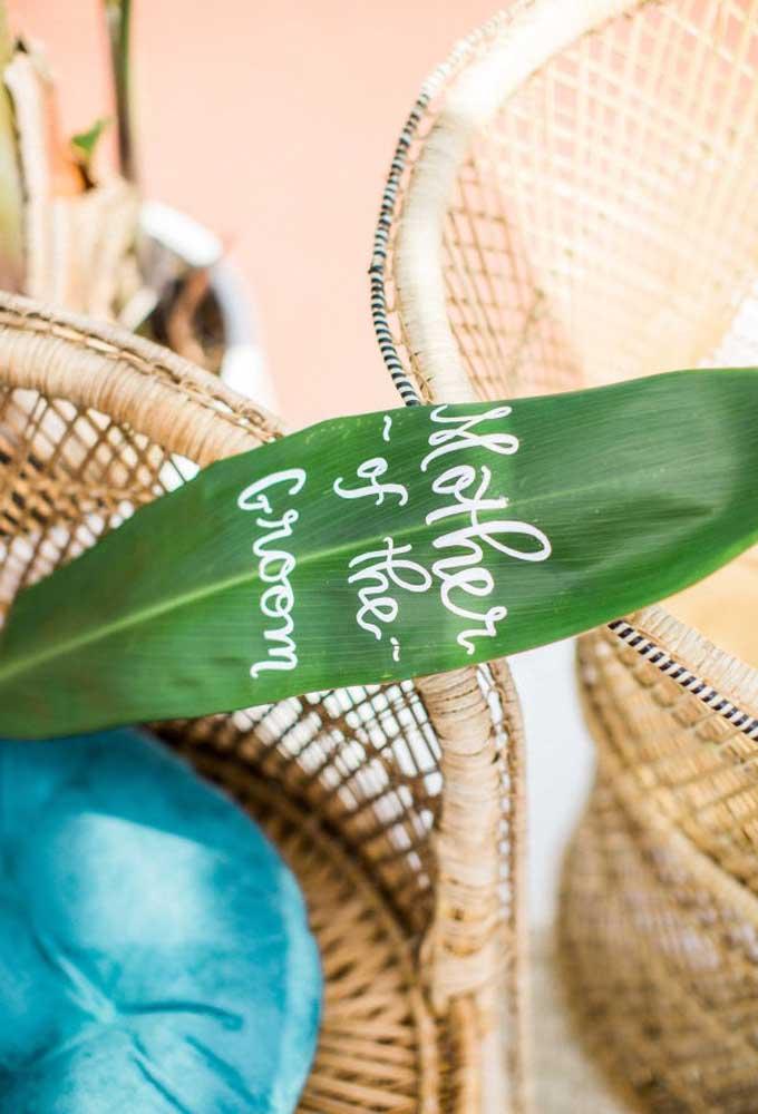 Faça uma decoração simples no casamento na praia, pois o estilo não exige luxos e sofisticações.