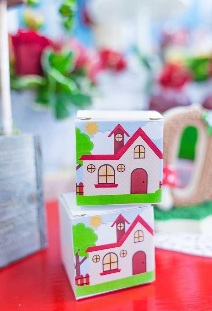 Caixinhas sempre são bem-vindas nas festas de aniversário e já se tornaram uma excelente opção de lembrancinha.