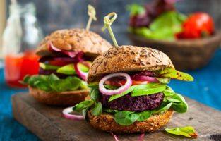Receitas de hamburguer vegano