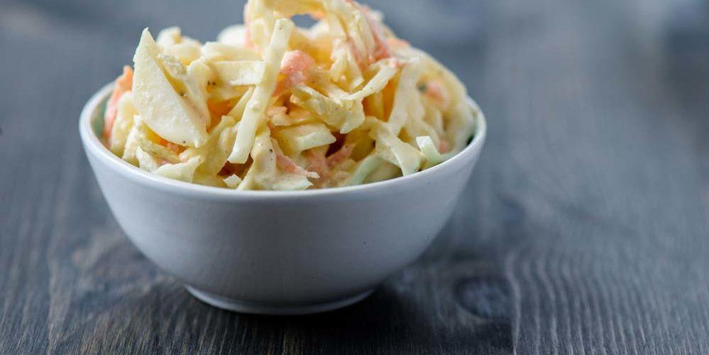 Descubra as melhores receitas de coleslaw