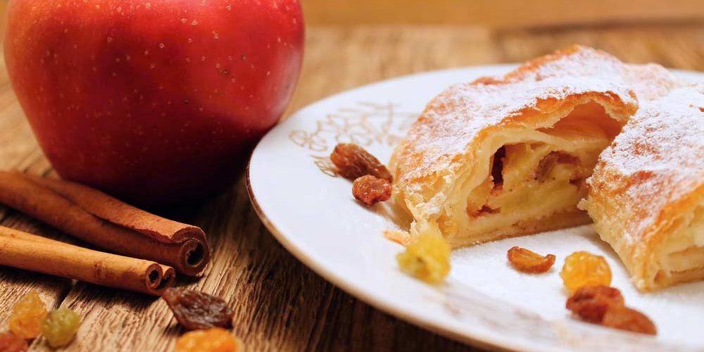 Confira as melhores receitas de strudel de maçã